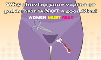 Do women shave pubic hair