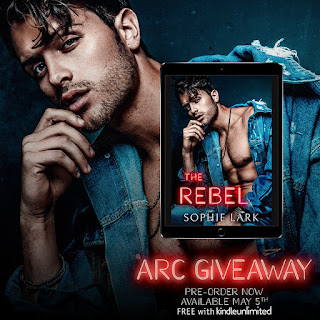 The Rebel by Sophie Lark e-ARC giveaway in my reader group!