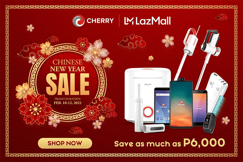 Deal: CHERRY reveals Chinese New Year Sale, save up to PHP 6,000!