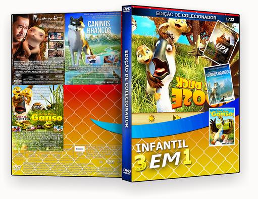 INFANTIL 3X1 – EDICAO VOL.1732 – ISO – CAPA DVD
