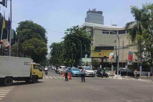 Uji Coba Sistem Satu Arah Jalan Wahid Hasyim, Dishub Klaim Arus Lalin Lancar