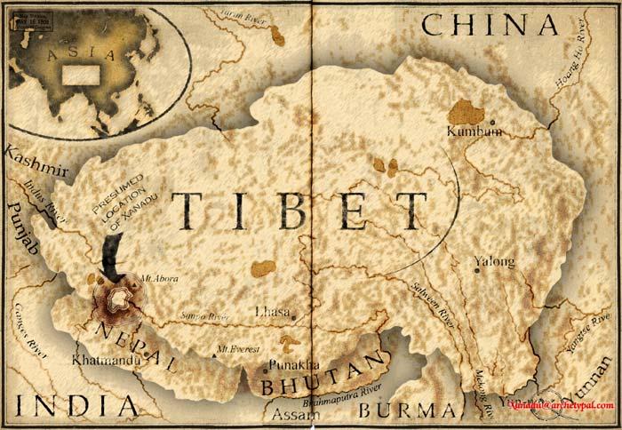 Exercitiul de vedere Tibetan