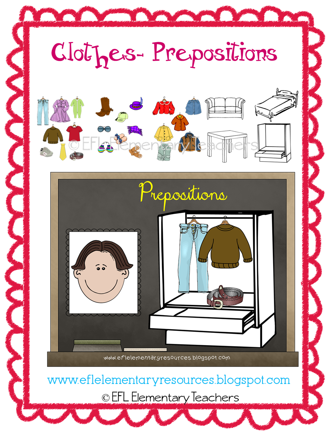 Efl Elementary Teachers Clothes Resources For The