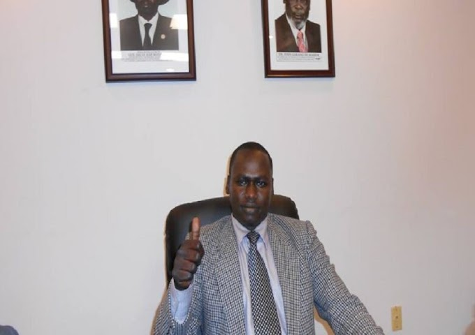 'It's really shameful' – South Sudanese diplomat caught urinating during live interview