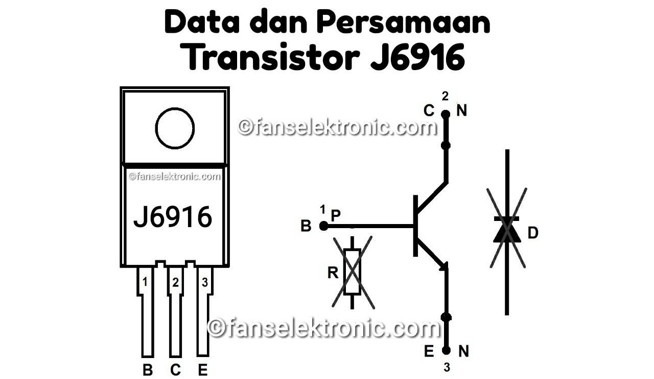 Persamaan Transistor J6916