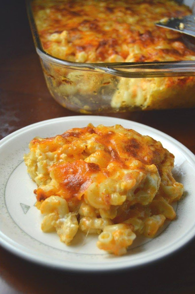 Good Old Fashion Mac and Cheese- Easy & Great Tasting !