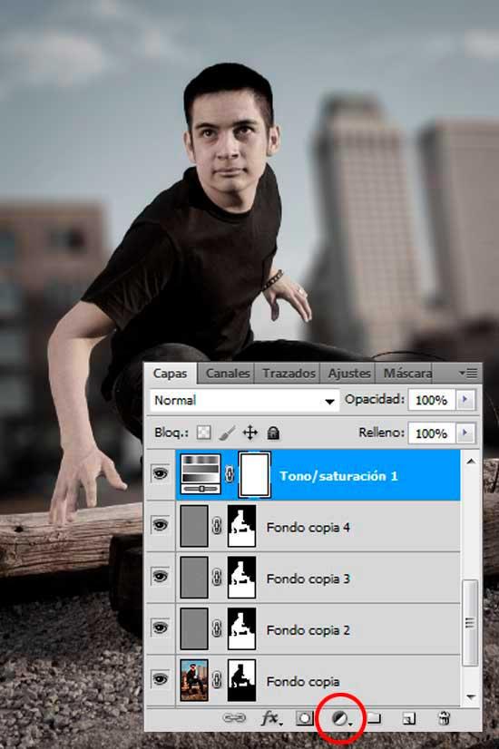 Tutorial Photoshop en Español Efecto Cine Paso 07a