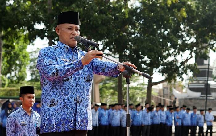 """Plt. Bupati Lamsel Nanang Ermanto""""Tingkatkan  Disiplin Kinerja dan Integritas Para ASN Pemkab Lamsel."""