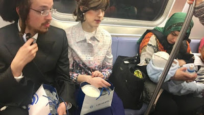 Casal de judeus é  sucesso nas redes sociais