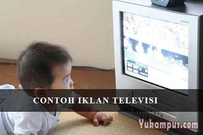 contoh iklan televisi