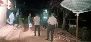 Cegah kejahatan Dimalam hari, Polsek Baraka Polres Enrekang Laksanakan Patroli