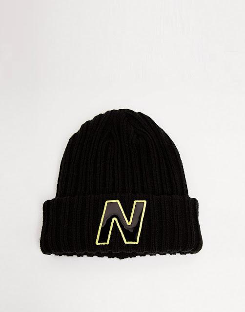 new balance hat, new balance black beanie, new balance beanie,
