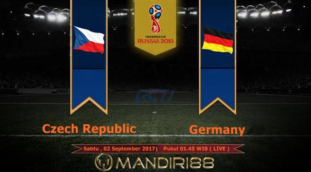 Prediksi Bola : Czech Republic Vs Germany , Sabtu 02 September 2017 Pukul 01.45 WIB @ RCTI