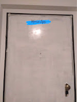 verniciare una porta in legno senza sverniciare