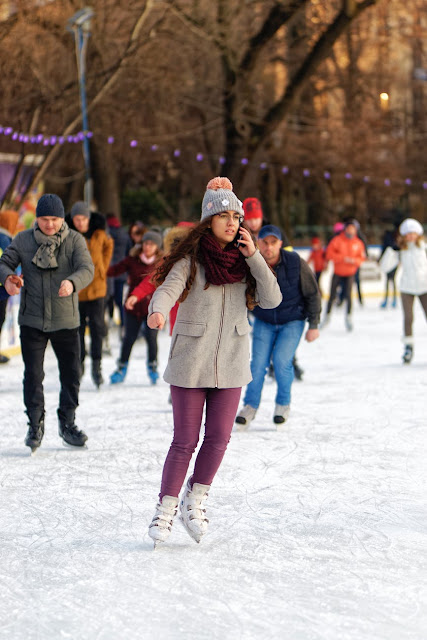 Christmas Days Out for Teens in North East England  - ice skating