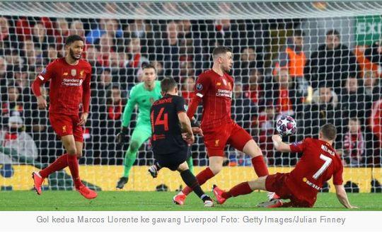 Liverpool vs Atletico Madrid 2-3 Highlights