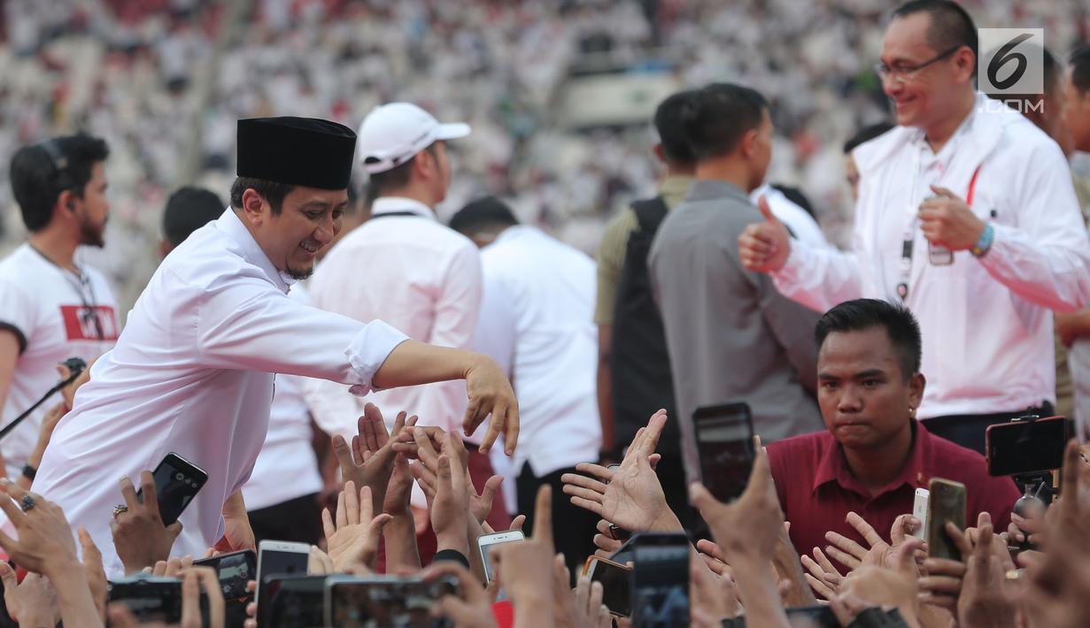 """Hari Tenang, Ustaz Yusuf Mansur Masih """"Kampanye"""" Jokowi"""
