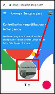 Cara Mengganti Foto Profil Gmail di HP Android 8