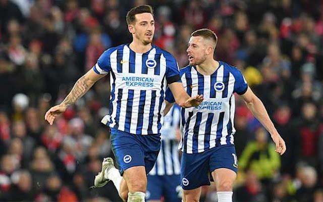 Video Liverpool 2-1 Brighton: Cú đúp, thẻ đỏ ngỡ ngàng và phút cuối nghẹt thở 3
