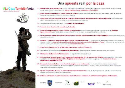 Caza Castilla-La Mancha