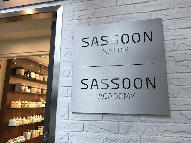 long hair cut experience sassoon toronto