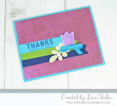 You're So Kind card-designed by Lori Tecler/Inking Aloud-stamps and dies from Reverse Confetti