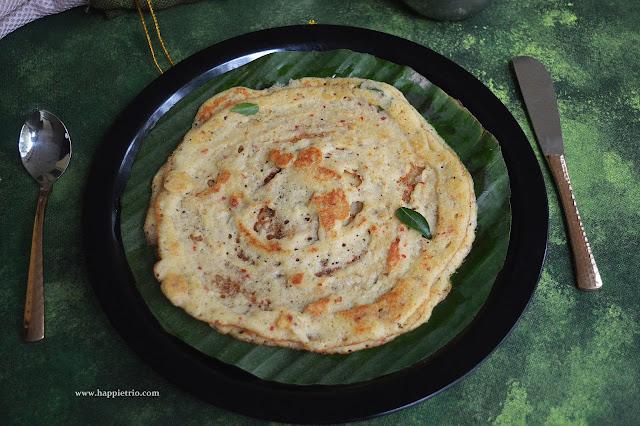 Dal Adai/Parupu Adai - Healthy Breakfast