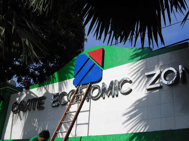 Built Up Stainless Steel Signage - Cavite Economic Zone