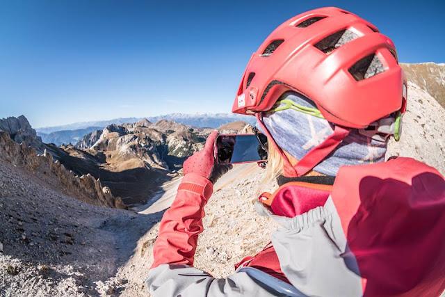 mountainbike sennesscharte foto