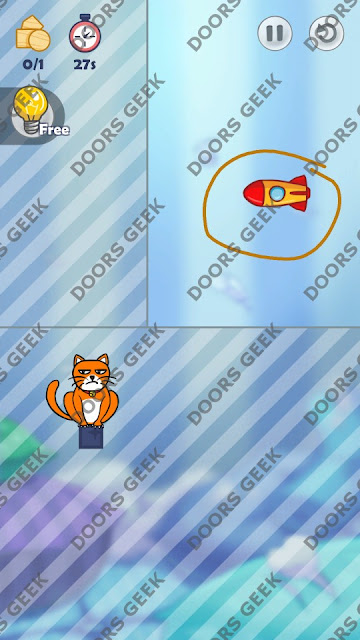 Hello Cats Level 13 Solution, Cheats, Walkthrough 3 Stars for Android and iOS