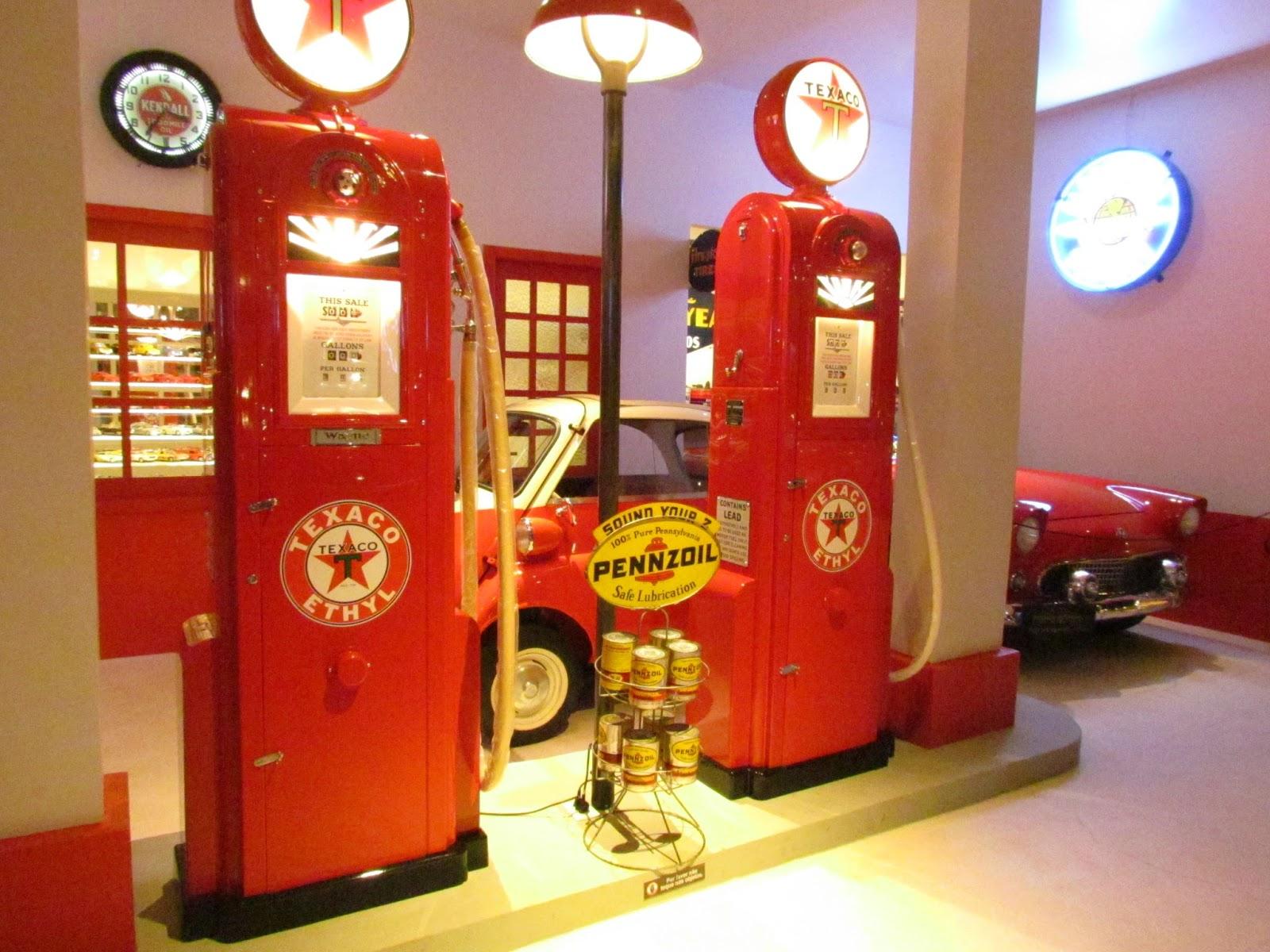 bombas de gasolina antigas