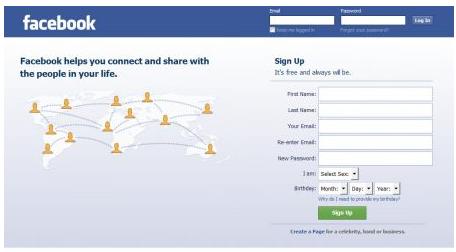 Com login facebook page www home Facebook login