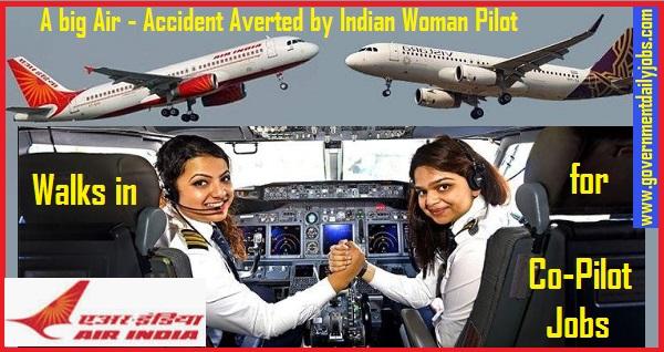 Air India Recruitment 2019 Apply 132 Latest Air India Co-Pilot Vacancies