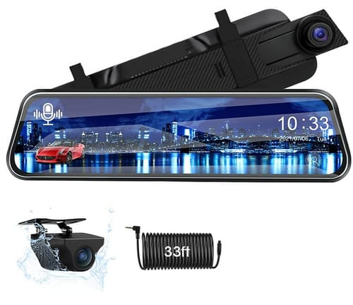 Jansite Full HD Rearview Mirror Backup Camera