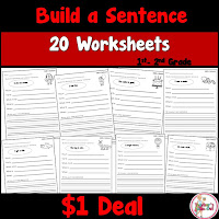 Build a Sentence Pack