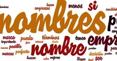 8 generadores de nombres para empresas y negocios online gratuito palabras aleatorias e - Nombres originales empresas ...