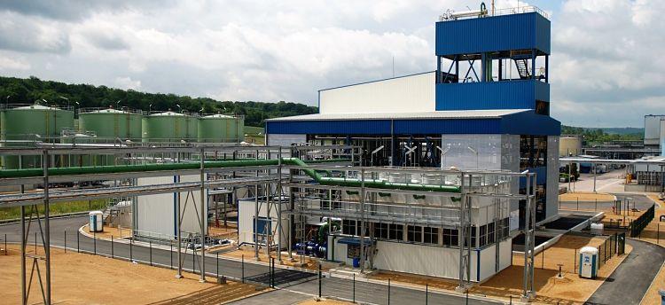 Planta industrial de elaboración de aceite vegetal
