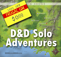 Free GM Resource: D&D Solo Adventures