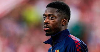 Barcelona Sporting director confirms no negotiations with Manchester United for Dembele'