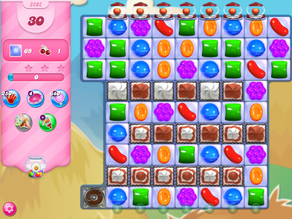 Candy Crush Saga level 3202