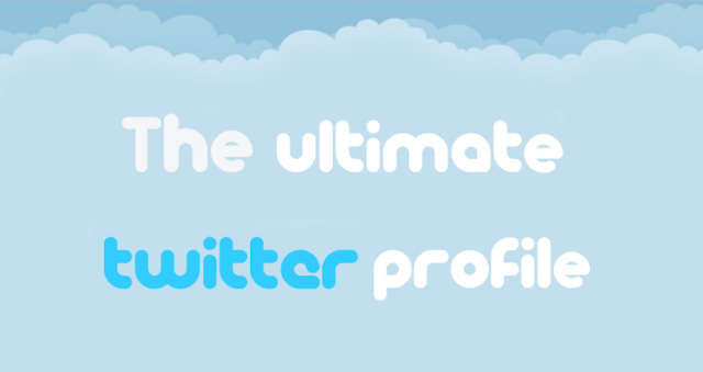 How To Make A Perfect Twitter Profile #infographic