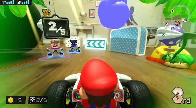 Mario Kart Live Home Circuit Wendy O. Koopa Ludwig Von blue Piranha Plant goop