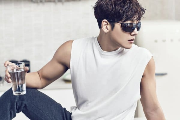 "Actor  ji Chang wook New Brand Collab with  the Italian lifestyle brand ""POLICE,"""