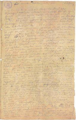 Beethoven_Heiligenstaedter_Testament Χειρόγραφη σελίδα της διαθήκης