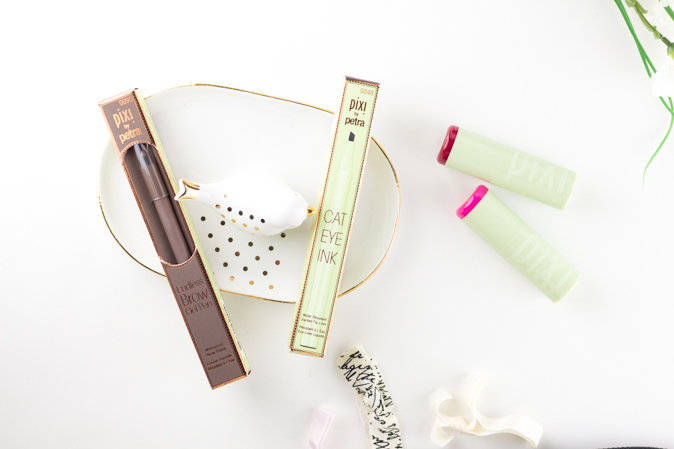 pixi beauty mattelustre lipstick, endless brow gel pen, cat eye ink review
