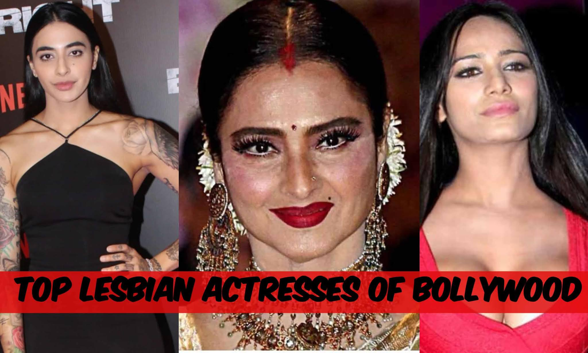 top lesbian actresses of Bollywood
