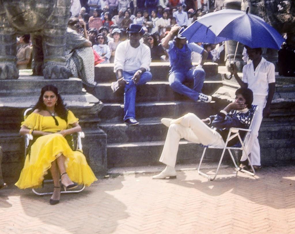 SwimInIndia391B Bhaktapur Nepal Zeenat Aman Amitabh Bachchan