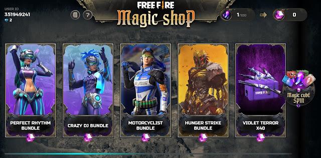 Toko Magic Shop Terbaru 3 Bundle Lawas Kembali di Rilis di Event Desember 2019