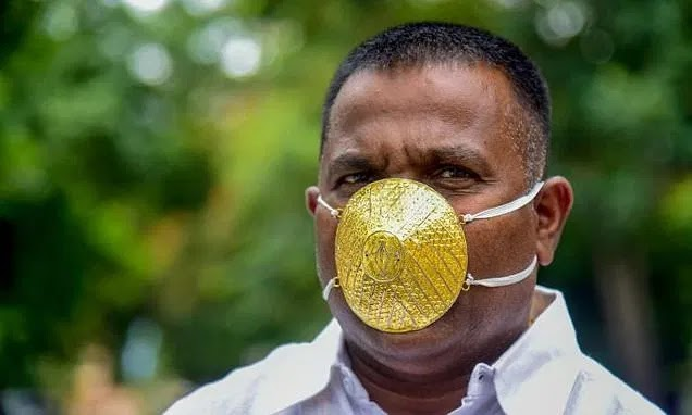 World's most expensive face mask against coronavirus gulps $4,000 in India