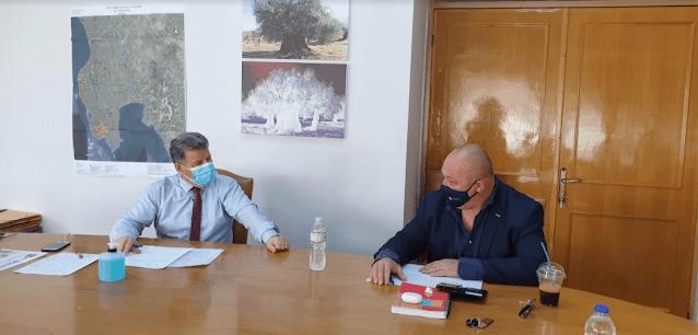 Στη Μεσσηνία ο Αντιπεριφερειάρχης Αθλητισμού Ι. Μαντζούνης για την πορεία των αθλητικών έργων